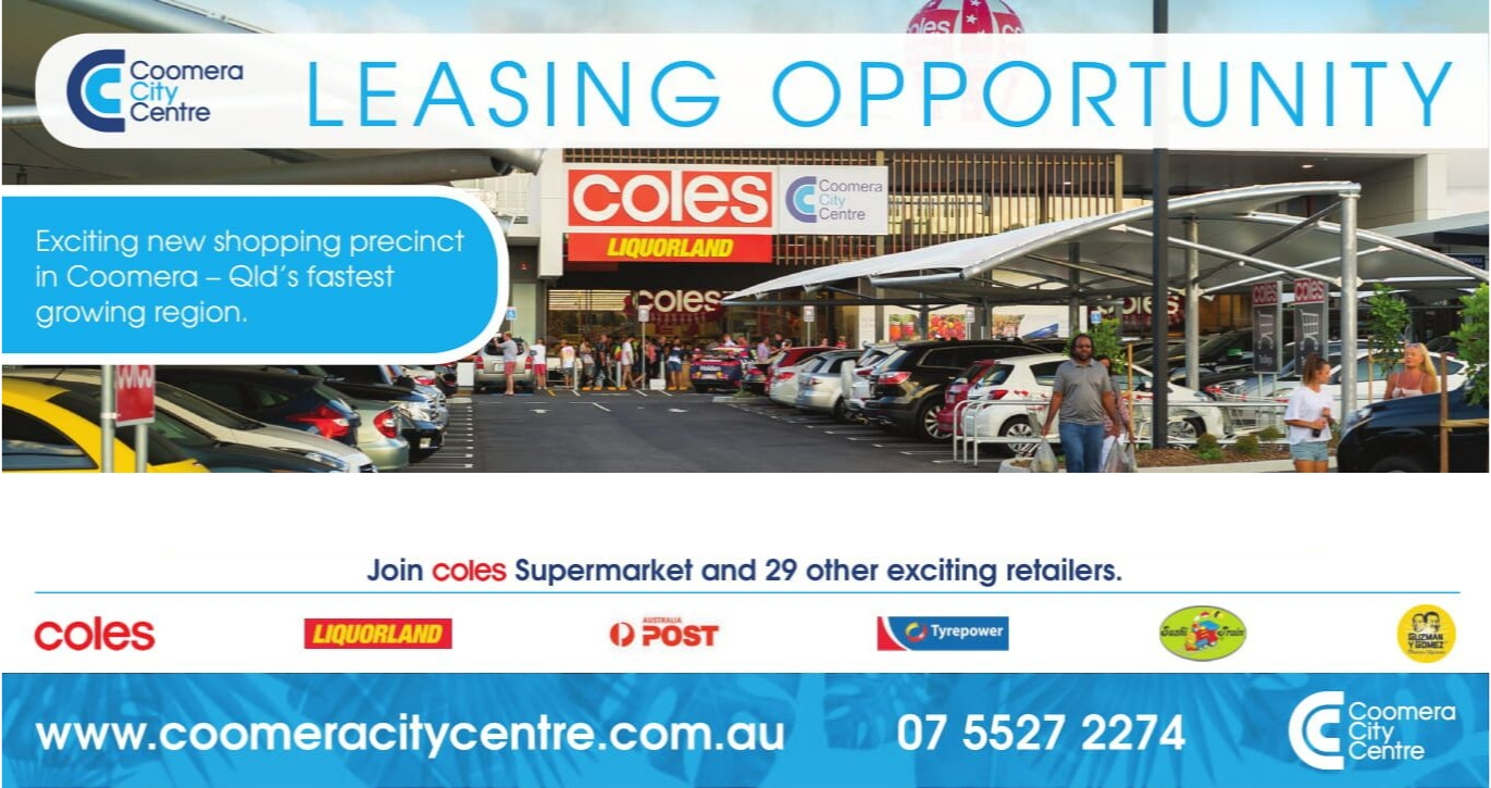 Coomera City Centre Leasing Opportunities